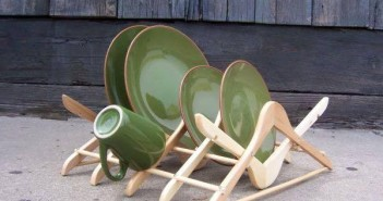 Up-cycled Wood Hooks