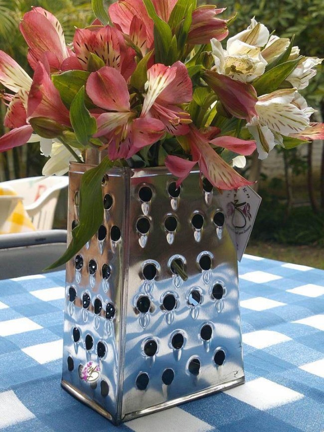 Upcycled Centerpieces