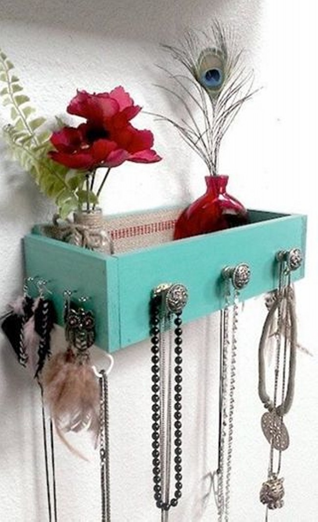 Upcycled Dresser Drawers
