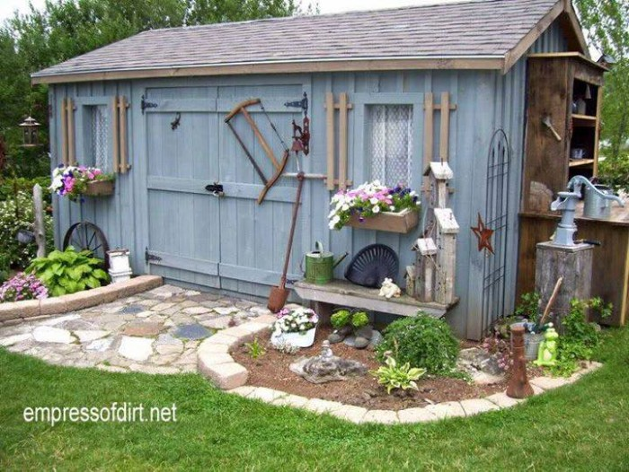 Upcycled Garden Art Ideas