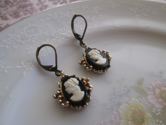 Upcycled Vintage Clip Earrings