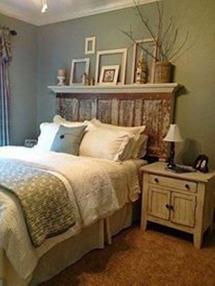 Upcycled Wood Door Bed Uses