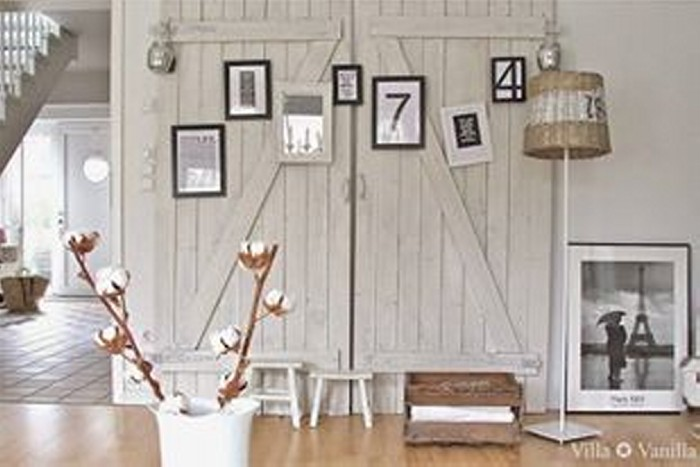 Upcycled Wood Door for Home Decor