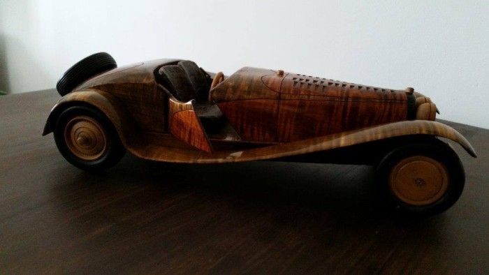 Upcycled Wooden Custom Car