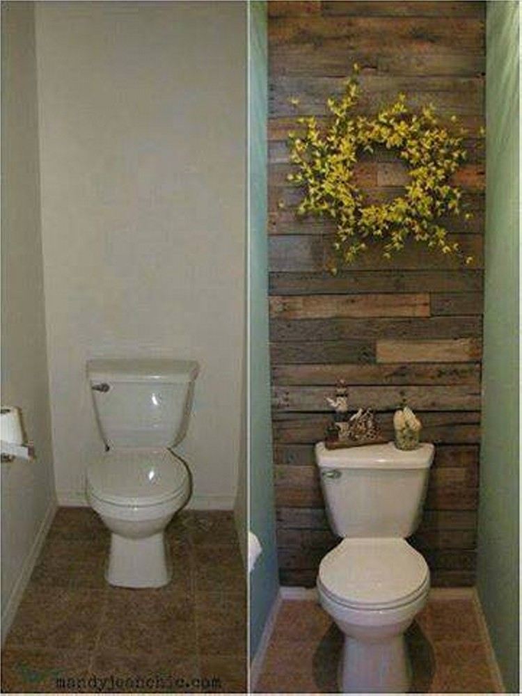 Wall Out Of Wood Pallet