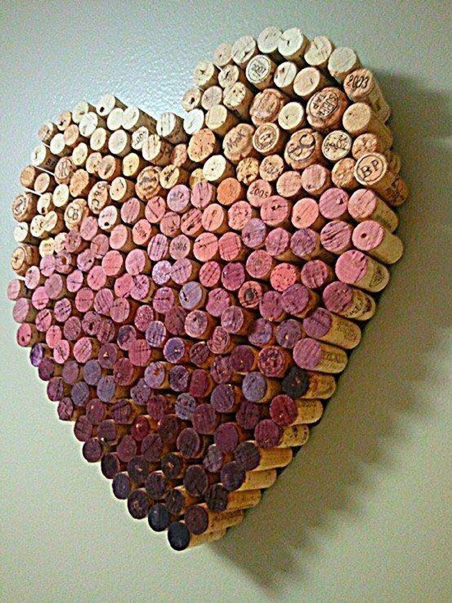 Wine Corks Craft Ideas