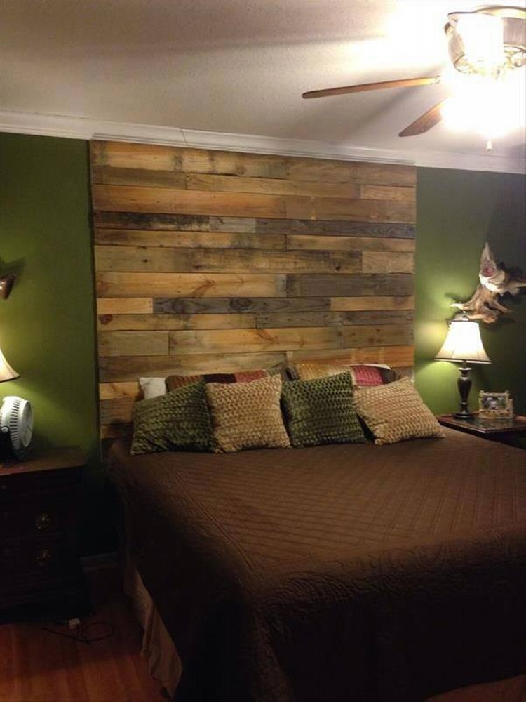 Wood Pallets Wall Work