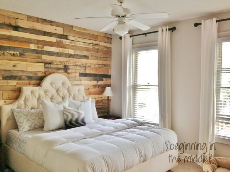 Wood Pallets Wall