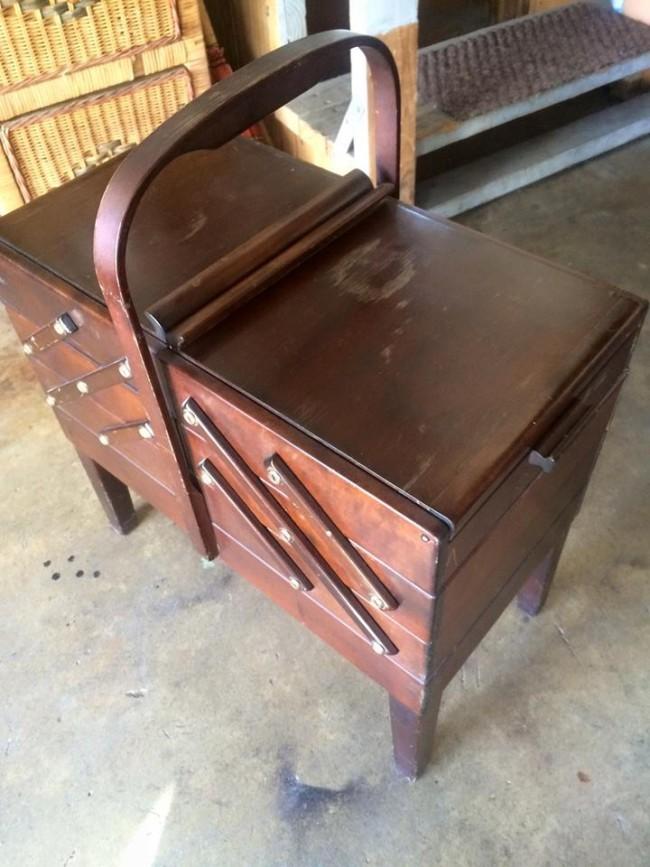 Wood Storage Box