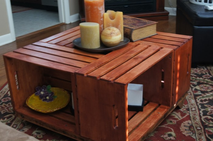 Wooden Crates Table