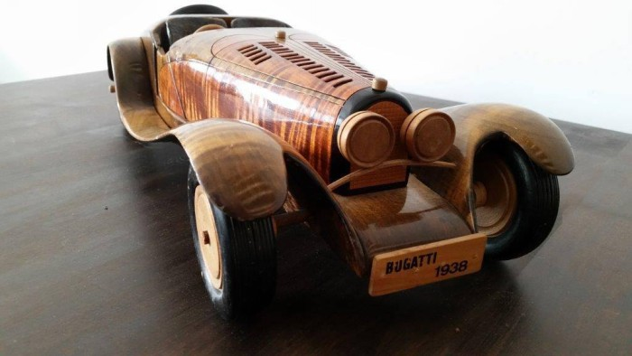 Wooden Custom Car
