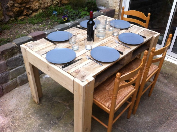 pallet dinning table Ideas
