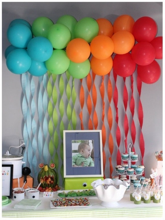 Balloons Decor Idea