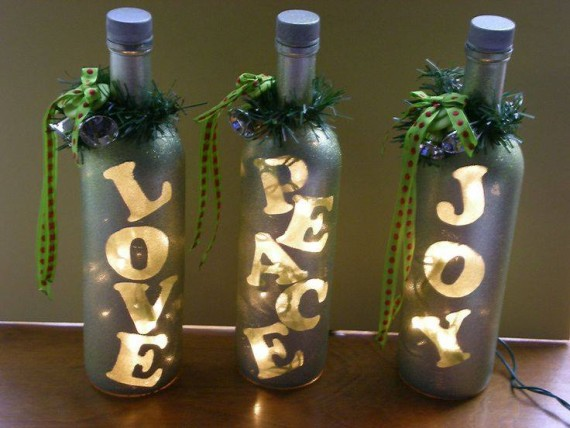 Bottles Christmas Ideas