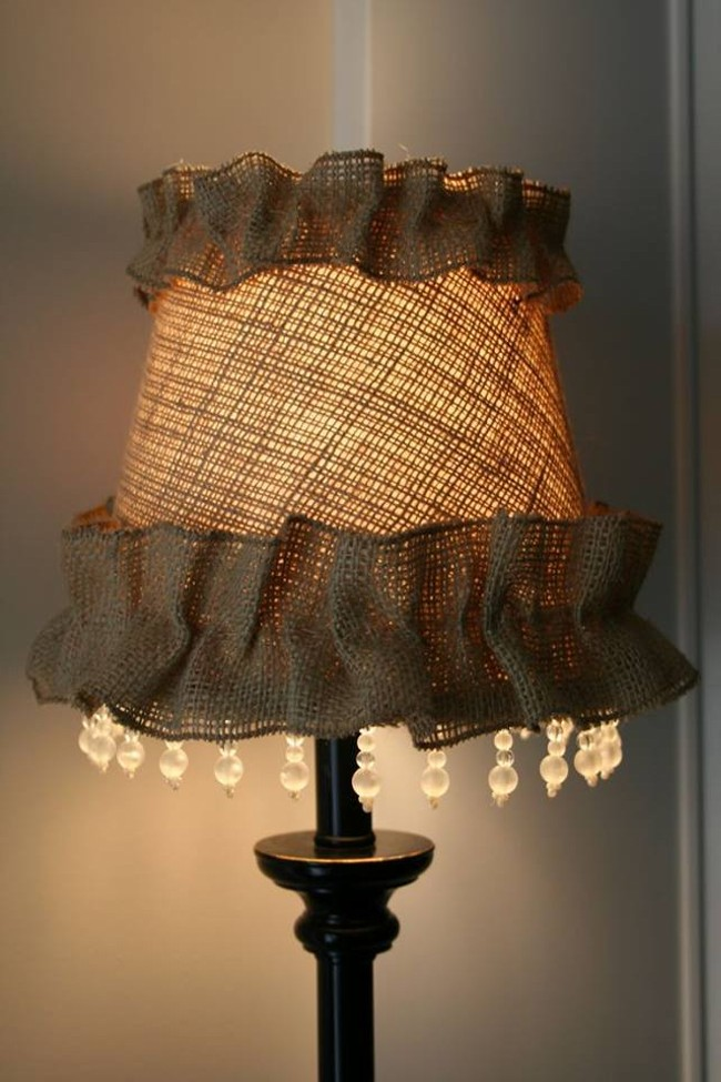 Burlap Fabric Upcycled Crafts