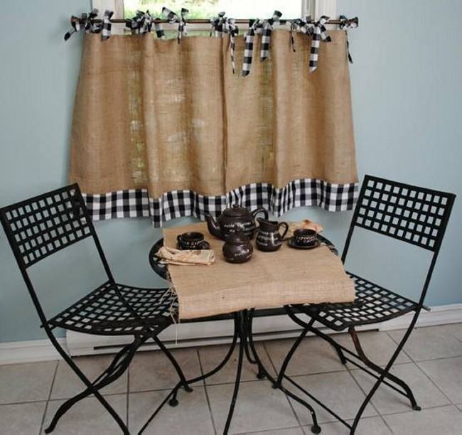 Burlap Upcycled Crafts
