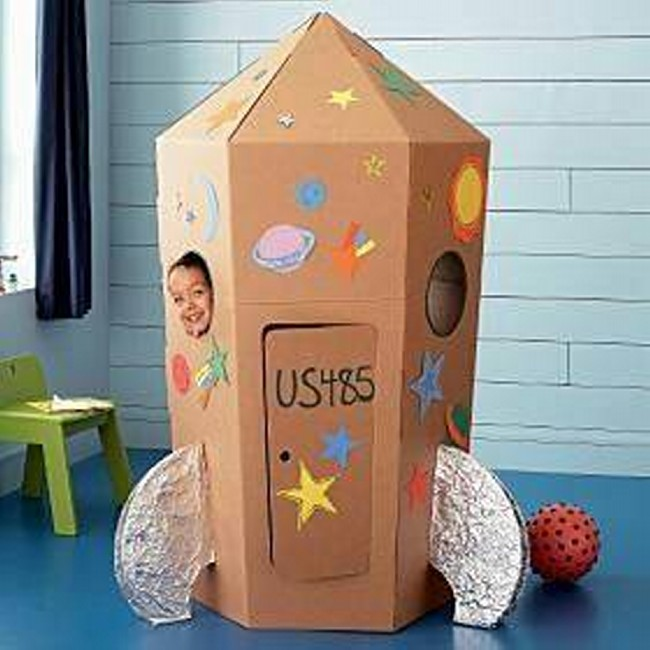 Cardboard Boxes Kids Projects