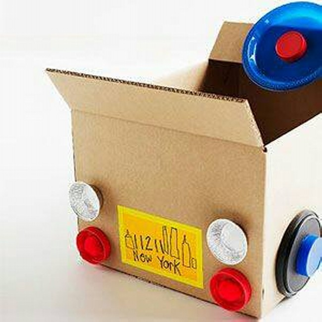Cardboard Boxes Kids Toys