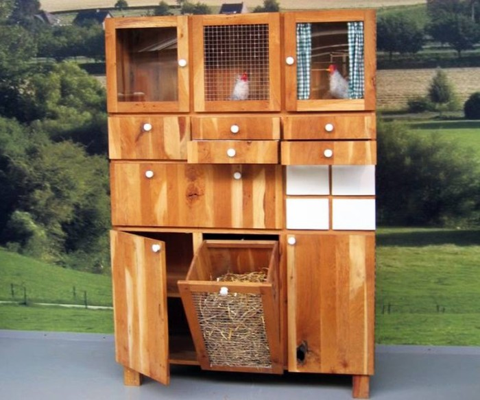Chicken Cabinet Idea