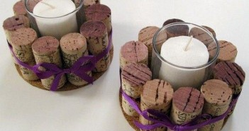 Cork Stoppers Candles