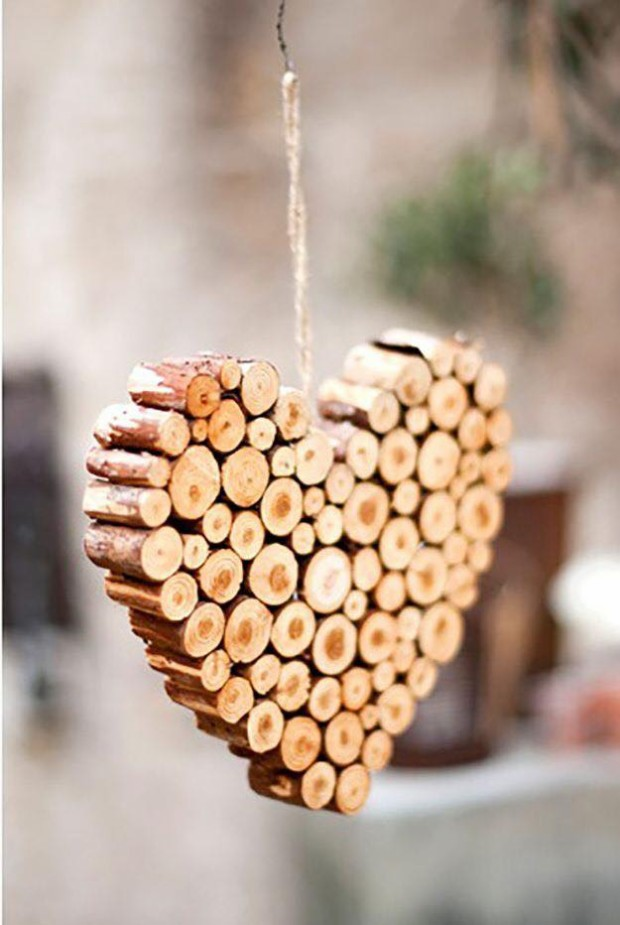 Cork Stoppers Heart