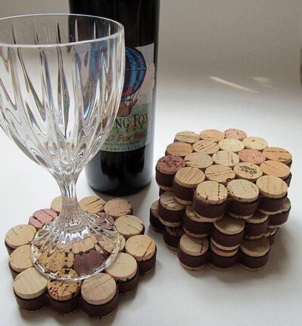 Cork Stoppers Upcycled