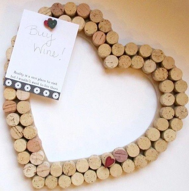 Crafts Made with Cork Stoppers