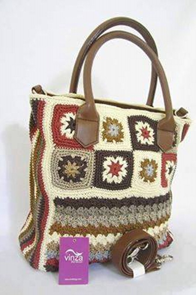 Crochet Designs For Bags : Crochet Bag Pattern Designs