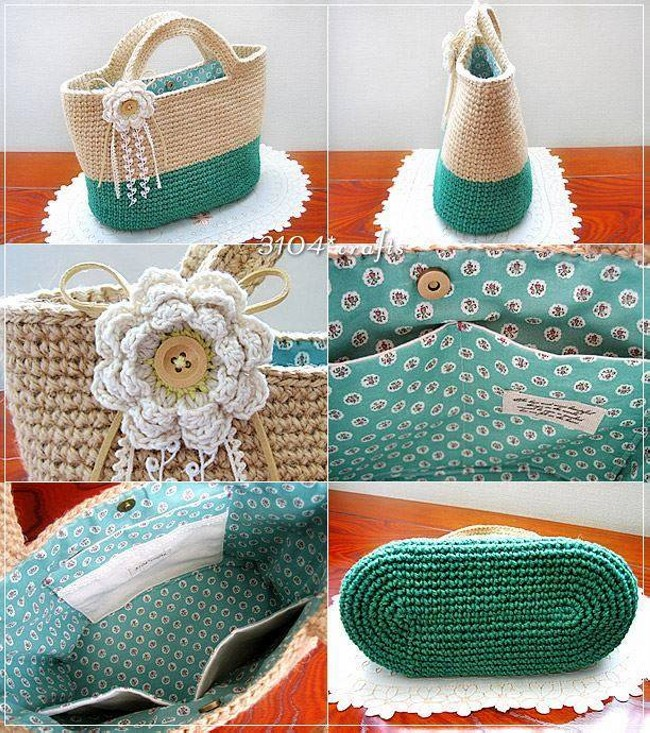 Crochet Bag Making : Crochet Bag Patterns Pictures
