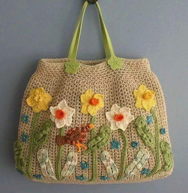 Crochet Purse Ideas : 50 Crochet Bag Patterns Upcycle Art