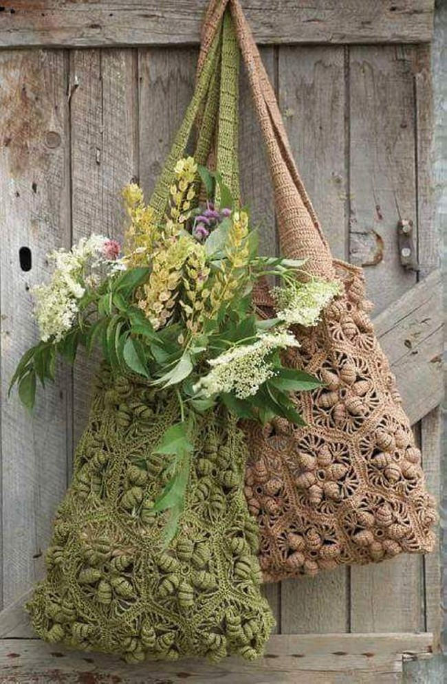 Crochet Hand Bag Pattern Ideas