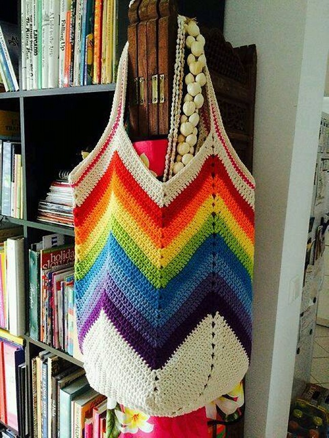 Crochet Hand Bag Pattern