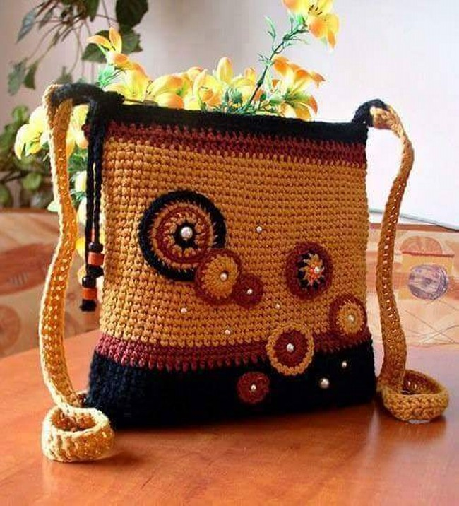Crochet Hand Bag Patterns