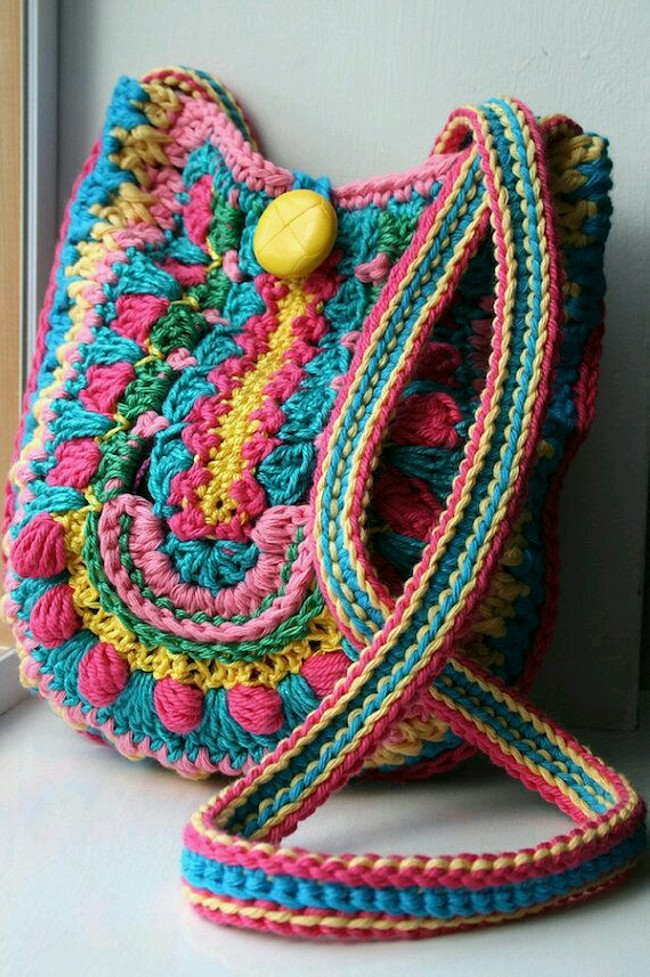 Crochet Hang Bag Patterns Ideas