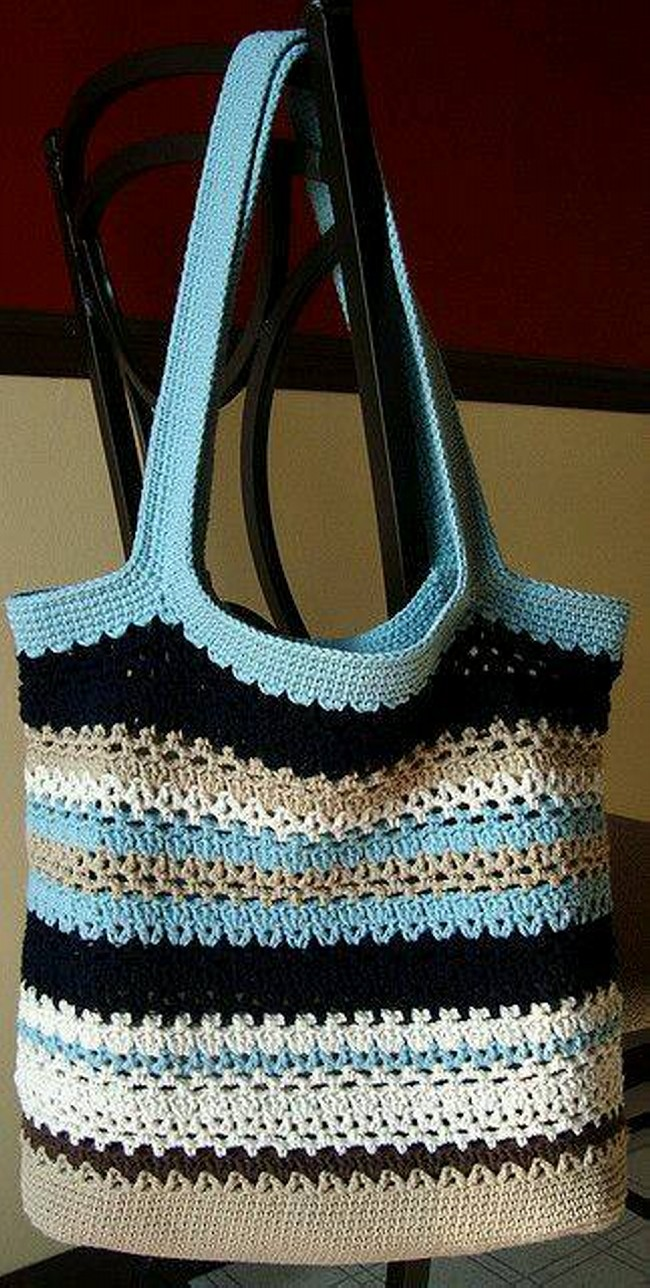 Crochet Animal Bag Free Pattern : 50 Crochet Bag Patterns Upcycle Art