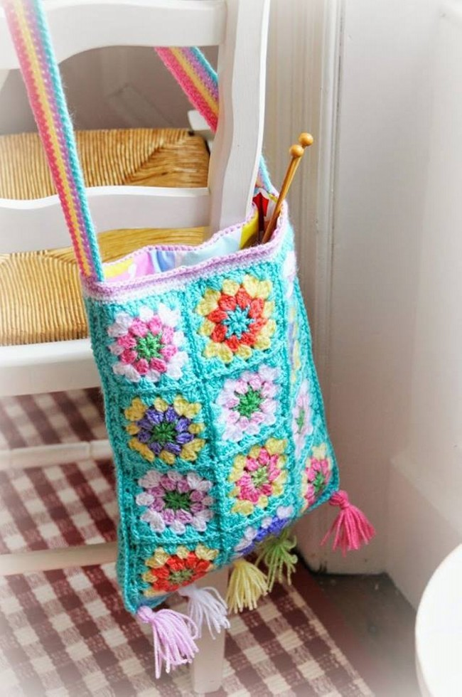 50 Crochet Bag Patterns Upcycle Art