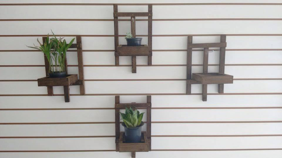Cute Vertical Garden Idea