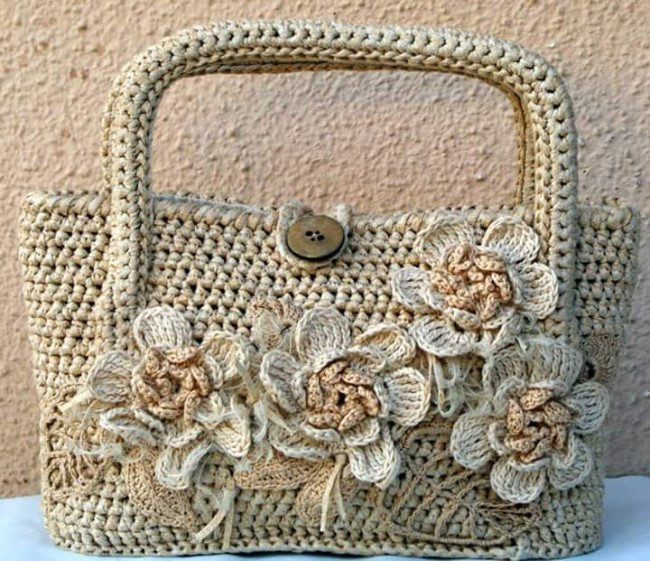 Crochet Handbag Pattern : Crochet Bags Crochet Patterns