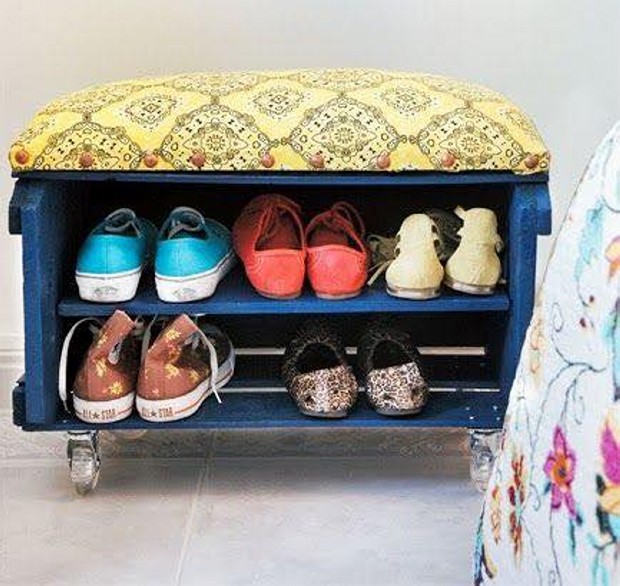 Fruit Boxes Shoe Rack