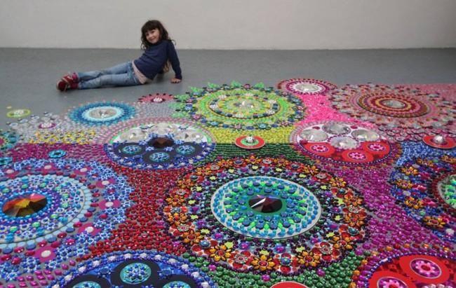 Glittering Gems Art Flooring