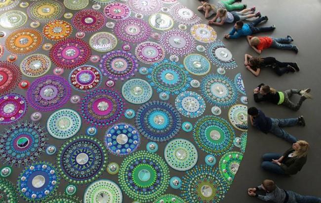 Glittering Gems Art Idea