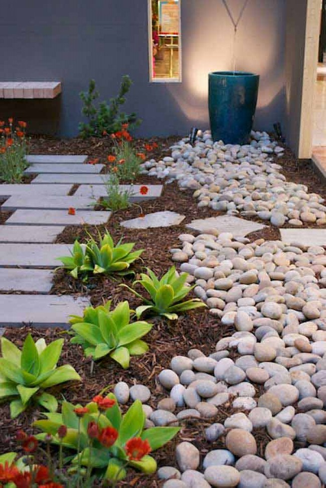 Ideas for Home Decorating with Stones