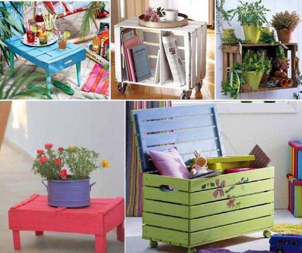 Ideas to Upcycle Fruit Boxes