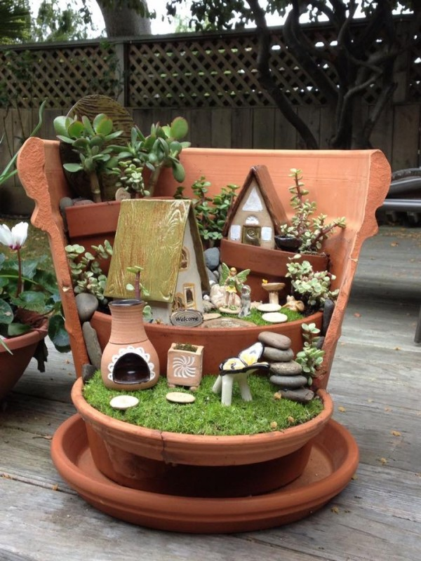 Ideas For Miniature Gardens a walk in the park garden ideas magazine honey i shrunk the garden Mini Garden Idea