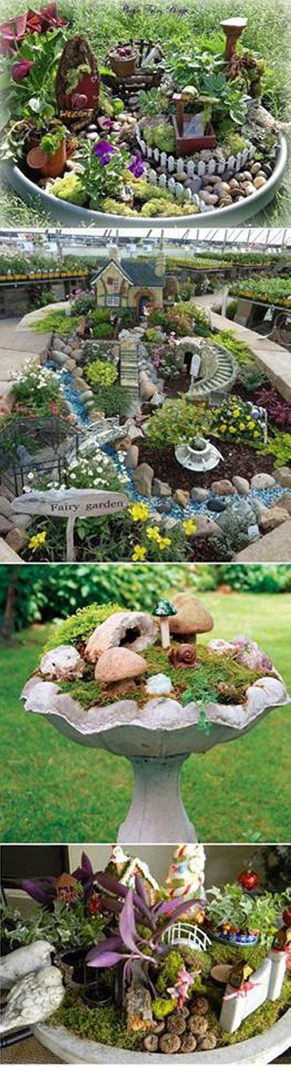 Mini Gardens in Garden