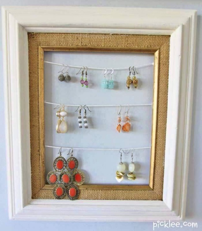 Ideas For Using Old Photo Frames Upcycle Art