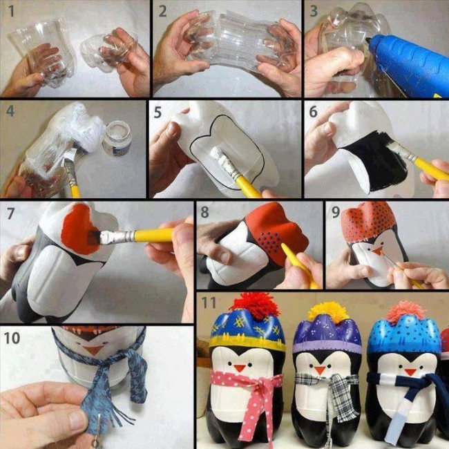 Plastic Bottles Upcycled