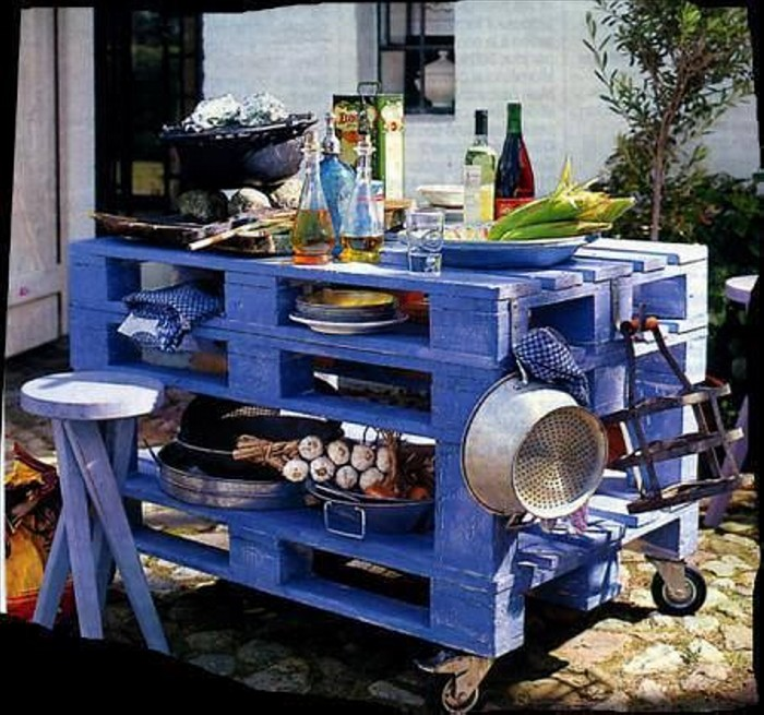 Recycled Old Pallets Ideas
