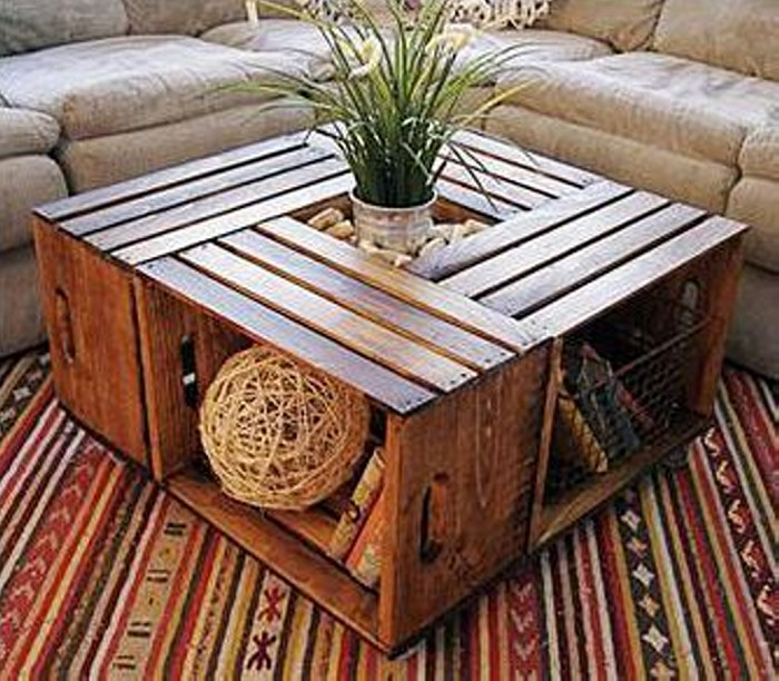 Recycled Old Pallets Table Ideas