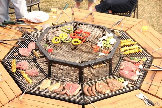 BBQ Table Ideas